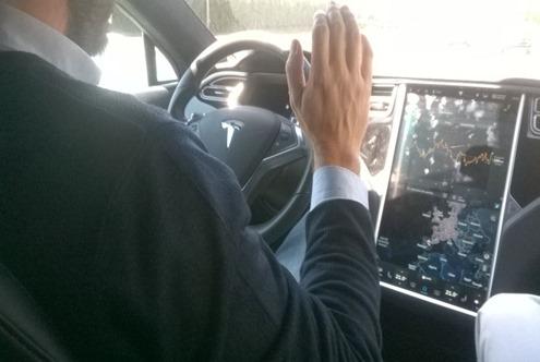 Probando el Autopilot del Tesla